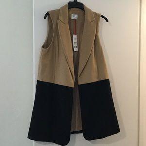 Color block vest